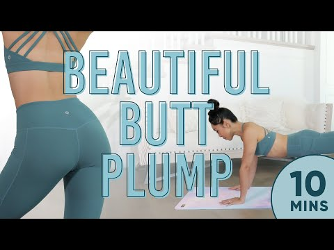 10 Minute Beautiful Butt Plump Workout | 7 Day Glute Challenge (Days 4-7)