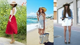 15 Great Combinations With Sun Hats