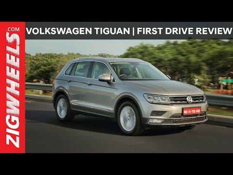 Volkswagen Tiguan   Highline   First Drive Review   ZigWheels.com