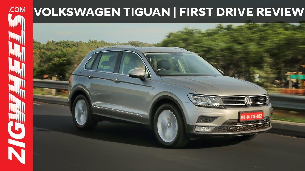 Volkswagen Tiguan | Highline | First Drive Review | ZigWheels.com