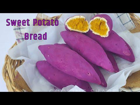Sweet-Potato-Bread-ขนมปังมันหว
