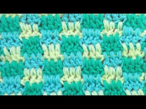 Красивый и простой узор для шапок Вязание крючком  Crochet stitch 121