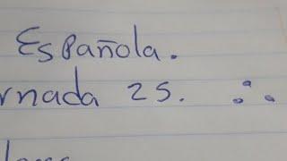 Liga Española Jornada 25. Aviso IMPORTANTE.