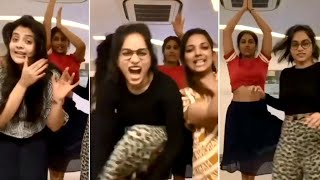Sreemukhi, Vishnu Priya & Punarnavi Bhupalam Super Party Dance | Sreemukhi Vishnu Priya Dance - RAJSHRITELUGU