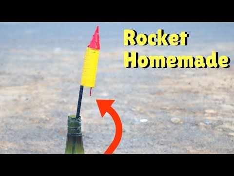 How to Make Rocket at Home | Diwali Crackers