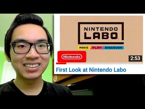 CARDBOARD! - Nintendo LABO Reaction!