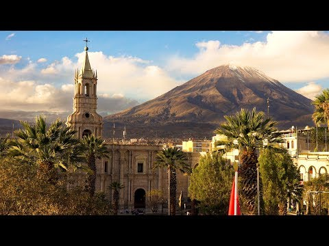 Historic Arequipa, Peru in 4K Ultra HD