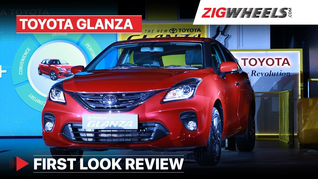 Toyota Glanza 2019 | First Look Review - Price Starts at Rs 7.22 lakh | Zigwheels.com