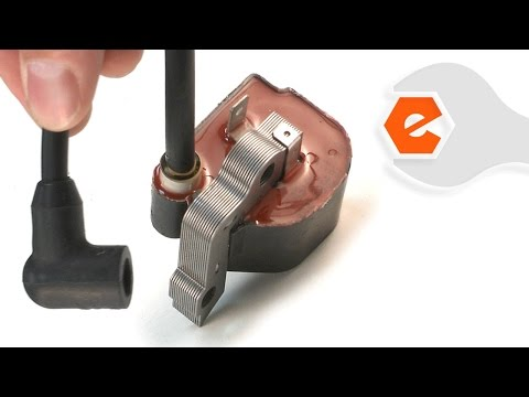 Chainsaw Repair - Replacing the Ignition Coil (Poulan Part # 545090601)