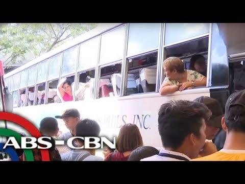 Mga pasahero dagsa na sa bus terminals matapos ang holidays