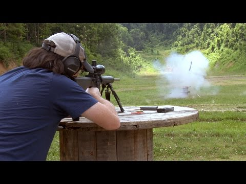 How to blow up a guitar with dynamite and an AR-15