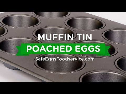 Muffin Tin Poached Eggs for Foodservice | Davidson's™ Pasteurized Shell Eggs