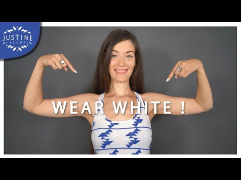 Video: How to wear white & make it work for you ǀ Summer wardrobe ǀ Justine Leconte