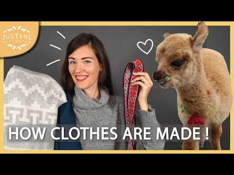 Video: How your clothes are really made! ǀ Quality clothes ǀ Justine Leconte
