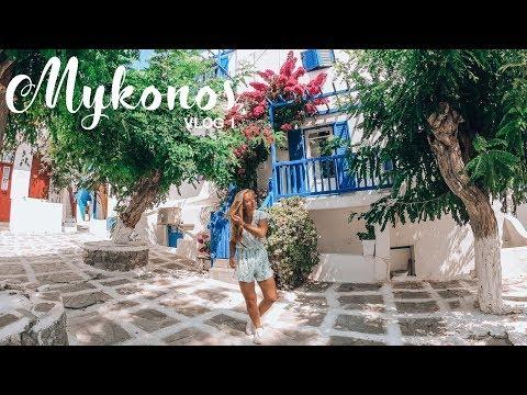 Getting lost in Mykonos town - Vlog 1