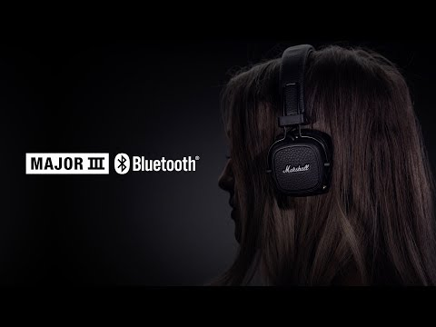 Marshall - Major III Bluetooth Headphones - Full Overview German
