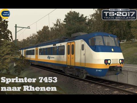 Sprinter 7453 naar Rhenen | NS SGMm | Train Simulator 2017