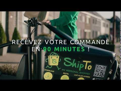 Faites-vous livrer en 90 minutes grâce à ShipTo!