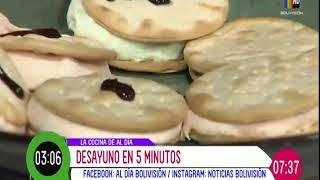 Desayuno en 5 minutos Santa Cruz: Receta del 17 de diciembre del 2020