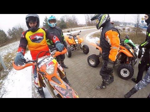 "20 quads at the same time / ATV riding with friends / Kto chce do nas dolaczyc """
