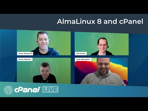 cPanel LIVE | What you need to know about AlmaLinux 8 and cPanel