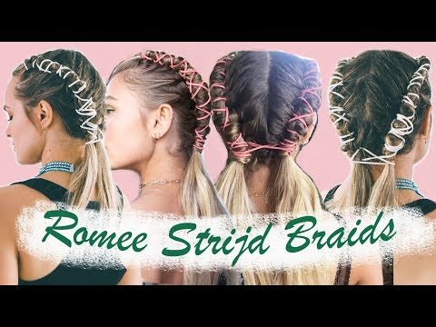 How to do Romee Strijd's Coachella Pipe Braids (& an easy version!) – KayleyMelissa