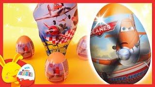 Maxi oeufs surprises PLANES Disney Pixar - Touni Toys - Titounis