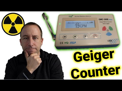 GQ GMC-300 Geiger Counter Overview and Demo