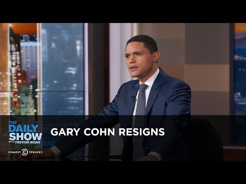connectYoutube - Gary Cohn Resigns - Between the Scenes: The Daily Show
