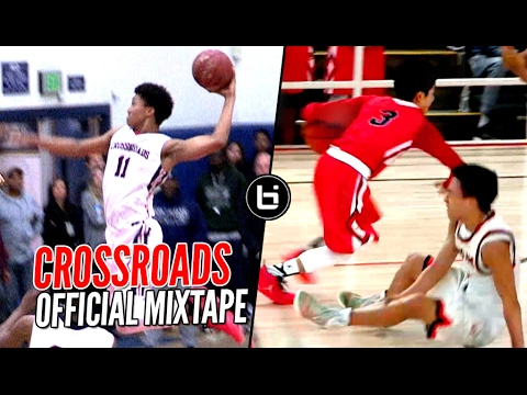 Shareef O'Neal & Ira Lee DON'T PLAY AROUND!! Crossroads Mixtape! Nasty Dunks & Ankle Breakers!
