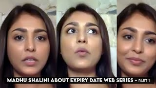 Madhu Shalini About Expiry Date Web Series | Exclusive Interview | Part 1 | #ExpiryDate | IndiaGlitz - IGTELUGU