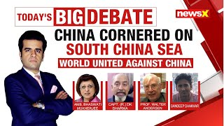 China Cornered On South China Sea | World United Against China | NewsX - NEWSXLIVE