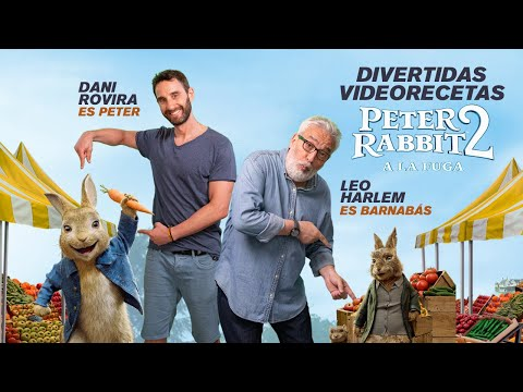 PETER RABBIT 2 - Dani Rovira y Leo Harlem cocinan TIMBAL de TRÍO DE HUMMUS | Sony Pictures España