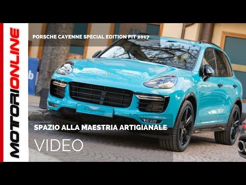 Porsche Cayenne special edition PIT 2017 svelata a Courmayeur