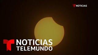 Así fue el último eclipse anular de Sol de la década   Noticias Telemundo