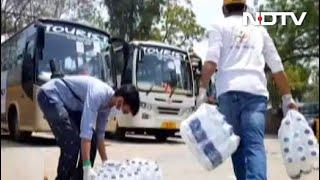 लोगों की मदद के लिए आगे आए जैस्पर, मजदूरों के लिए किया खाने का इंतजाम - NDTVINDIA