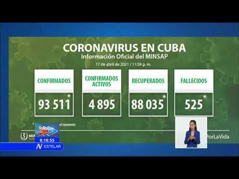 Actualización de la COVID-19 en Cuba