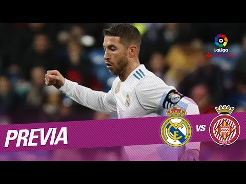 Previa Real Madrid vs Girona FC