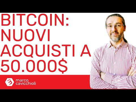 Square e MicroStrategy investono altri milioni in bitcoin comprandoli ad oltre 50.000$ di prezzo