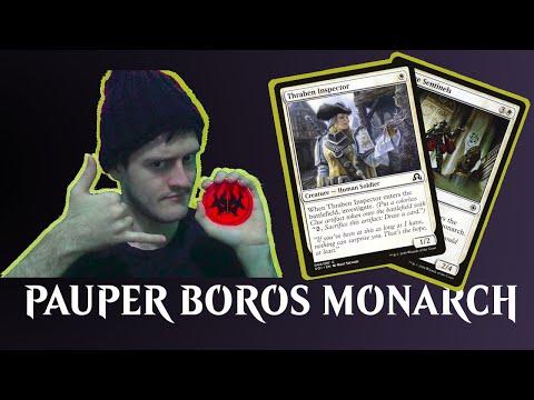 Pauper Boros Monarch Gameplay com Gabriel Exylem