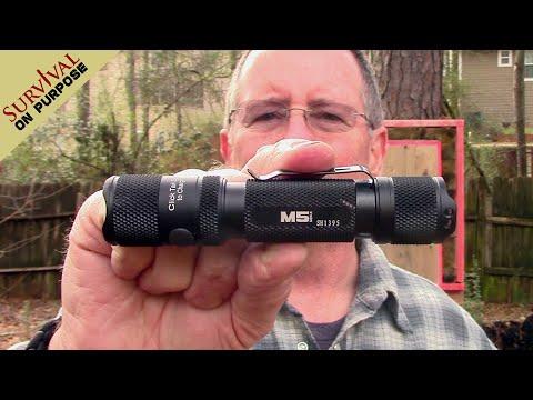 Powertac M5 1300 Lumen Rechargeable Flashlight Review
