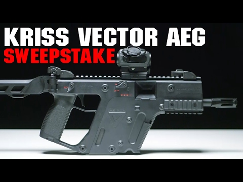 "Win a Free KRISS Vector? | Krytac ""KRISS Vector"" Sweepstakes!  - Airsoft GI"