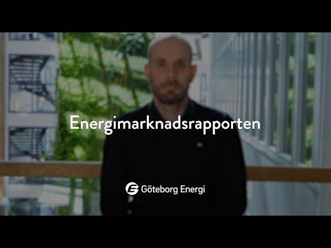 Energimarknadsrapporten från Göteborg Energi (april 2021)