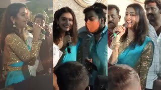 Actress Payal Rajput Mobbed by Crazy Fans @ Nellore | Tollywood - TFPC