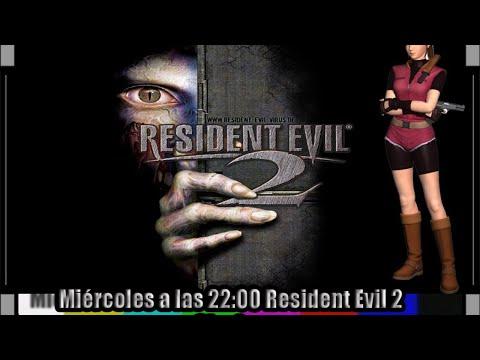 ➡Resident Evil 2 #Clásico Claire A en directo sin guardar⬅