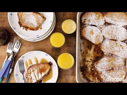 Brunch Recipes - How to Make Orange Pecan French Toast