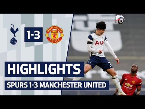 HIGHLIGHTS   Spurs 1- 3 Man Utd   Man United overturn Son's first-half opener to take three points