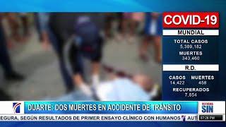 SIN Fin de Semana: Dos muertes en accidente