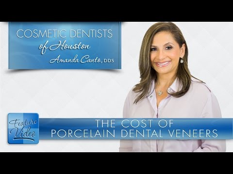 The Cost of Porcelain Dental Veneers ­- Cosmetic Dentists of Houston