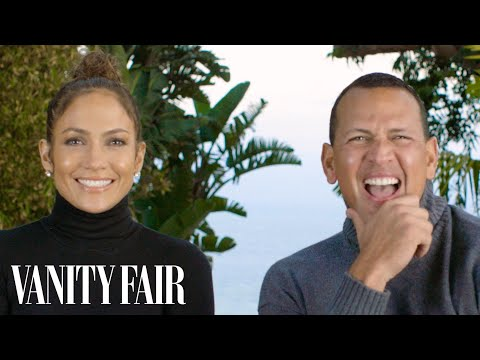 connectYoutube - Jennifer Lopez and Alex Rodriguez Answer 17 Questions in 128 Seconds   Vanity Fair